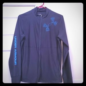 Under Armour light weight jacket, size Large